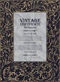 Vintage frame design: art nouveau Royalty Free Stock Image