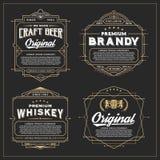 Vintage frame design for labels design vector illustration