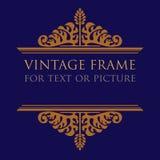 Vintage frame design Stock Images