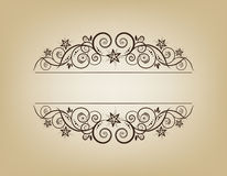 Vintage frame. Elegant. This image is a vector illustration and can be scaled to any size without loss of resolution. This image will download as a .eps file Stock Photo
