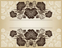 Vintage frame. Elegant. Beige. This image is a vector illustration and can be scaled to any size without loss of resolution. This image will download as a .eps vector illustration