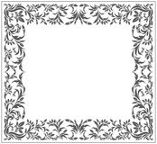 Vintage frame with elegant ornament. For your designs. Vector image Royalty Free Stock Photos