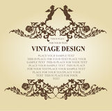Vintage frame elements Stock Photography