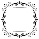 Vintage frame. royalty free illustration