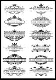 vector illustration borders. Vintage frame. illustration, ornament. for text royalty free illustration