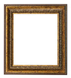 Vintage frame isolated on the white background Royalty Free Stock Images