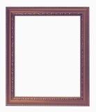 Vintage frame isolated on the white background Stock Photo
