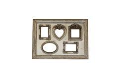 Vintage frame isolated on white background Royalty Free Stock Photo