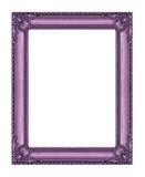 Vintage frame isolated on white , with clipping path. Vintage frame isolated on white background, with clipping path Royalty Free Stock Photography