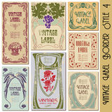 Vintage Frame Label royalty free stock images