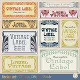 Vintage Frame Label royalty free illustration