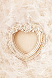Vintage frame on lace background Royalty Free Stock Photo