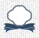 Vintage Frame and Modern Label. Web Design Vector Royalty Free Stock Image
