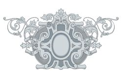 Vintage Frame Ornament Royalty Free Stock Photography