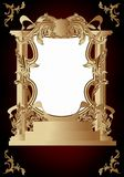 Vintage frame in rococo style Royalty Free Stock Image
