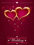 Vintage frame in shape of heart. Element for design. Royalty Free Stock Photos