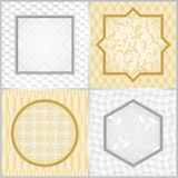 Vintage frame templates Royalty Free Stock Photography