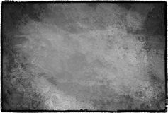 Vintage frame texture. A framed vintage black and white texture Stock Photography