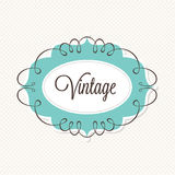 Vintage Frame. A vintage themed frame design Royalty Free Stock Image