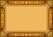 Vintage frame vector. Royalty Free Stock Photography