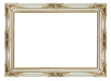 Vintage frame on white background Stock Photography