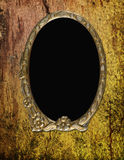 Vintage frame on wooden background Royalty Free Stock Image