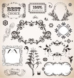 Vintage frame for You design Stock Photo