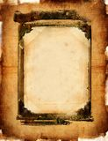 Vintage framed  background Stock Photography