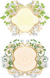 Vintage frames Royalty Free Stock Images