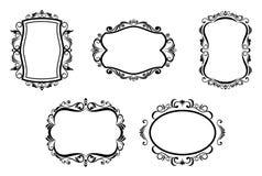 Vintage frames Royalty Free Stock Photos