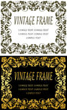 Vintage frames royalty free illustration