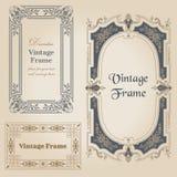 Vintage frames Stock Image