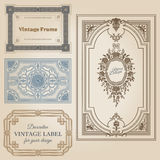 Vintage frames Royalty Free Stock Photography