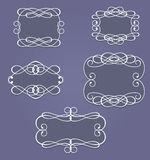 Vintage frames and borders Stock Image