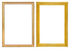 Vintage frames isolate. Use for picture frame Royalty Free Stock Image