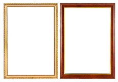 Vintage frames isolate,. Use for picture frame Royalty Free Stock Photos