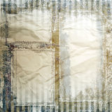 Vintage frames, paper texture Royalty Free Stock Images