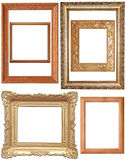 Vintage frames, set Stock Photography
