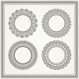Vintage frames. Vector detailed illustration. stock illustration