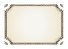 Vintage framework marble Royalty Free Stock Photo