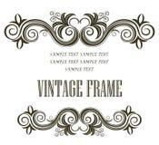 Vintage framing header and footer Stock Photos