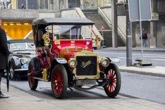 Vintage French car Brasier Royalty Free Stock Image