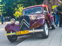 Vintage French car Citroen Royalty Free Stock Image