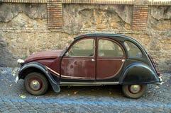Vintage French car Citroen 2CV Charleston royalty free stock images