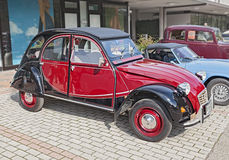Vintage French car Citroen 2CV Charleston Stock Image