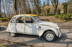 Vintage French car Citroen 2CV Stock Photo