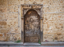 Vintage front door Royalty Free Stock Photography