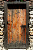 Vintage frontdoor royalty free stock photos