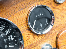 Vintage Fuel Gauge Royalty Free Stock Image