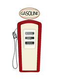Vintage fuel pump Stock Image